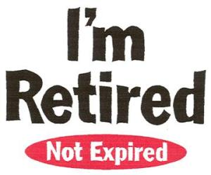 retired not expired