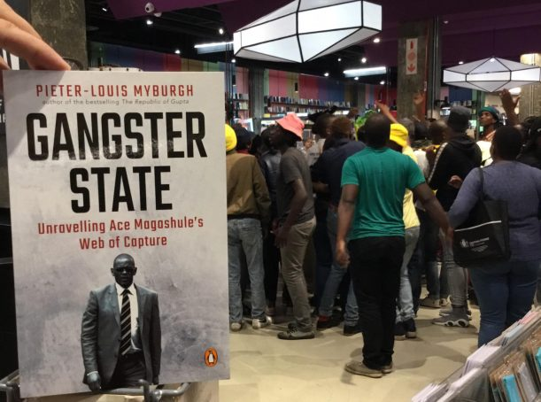 Pieter Louis Myburgh Gangster State book launch