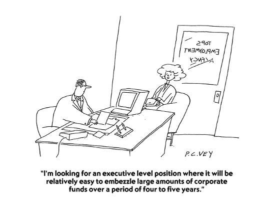 embezzler job
